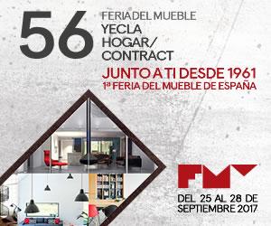 Delegaciones comerciales europeas y asiáticas, así como prescriptores internacionales llegan el próximo lunes a la 56ª edición de Feria del Mueble Yecla