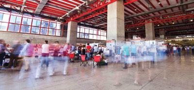 Feria del mueble en Madrid