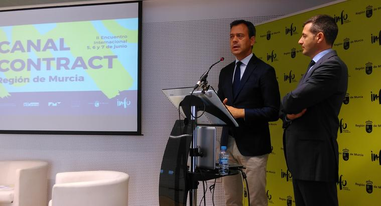 Marcos Ortuño, Presenta la 56 Feria de Yecla